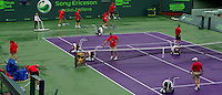 Rain stops play in Miami..International Tennis - 2010 ATP World Tour - Sony Ericsson Open - Crandon Park Tennis Center - Key Biscayne - Miami - Florida - USA - Fri 26 Mar 2010..© Frey - Amn Images, Level 1, Barry House, 20-22 Worple Road, London, SW19 4DH, UK .Tel - +44 20 8947 0100.Fax -+44 20 8947 0117