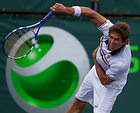 Igor ANDREEV (RUS) against Xavier MALISSE (BEL) in the first round. Andreev beat Malisse 6-4 6-4..International Tennis - 2010 ATP World Tour - Sony Ericsson Open - Crandon Park Tennis Center - Key Biscayne - Miami - Florida - USA - Wed 24 Mar 2010..© Frey - Amn Images, Level 1, Barry House, 20-22 Worple Road, London, SW19 4DH, UK .Tel - +44 20 8947 0100.Fax -+44 20 8947 0117