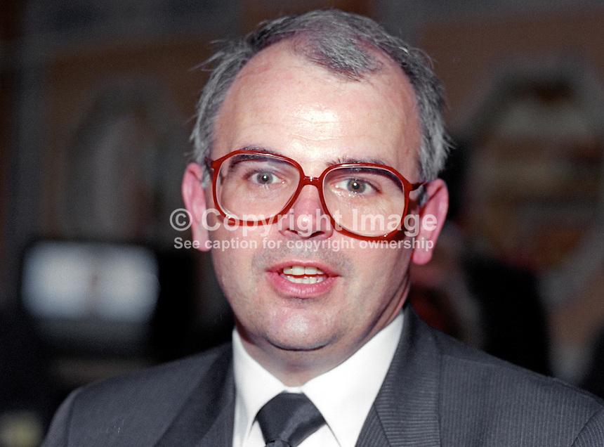 <b>Terry Wynn</b>, MEP, Labour Party, UK, politician, 19901012TW.&lt;br - Wynn-Terry-19901012TW