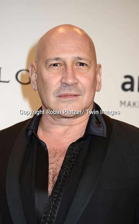Carmen Marc Valvo attends the amfAR New York Gala on February 5, 2014 at Cipriani Wall Street in New York City.