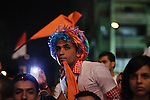 Supporters of Egyptian Islamist presidential candidate Abdul Moneim Aboul Fotouh listen intently to the candidate during his campaign rally with Egyptian youth April 30, 2012 in Alexandria, Egypt. Aboul Fotouh has gained political momentum in recent days by appealing to both secular and religious voting blocks.