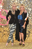 Joanna Lumley and Jennifer Saunders at 'Absolutely Fabulous: The Movie' world film premiere, Odeon cinema, Leicester Square, London, England June 19, 2016.<br /> CAP/PL<br /> &copy;Phil Loftus/Capital Pictures /MediaPunch ***NORTH AND SOUTH AMERICAS ONLY***