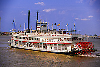 Steamboat Natchez,  Mississippi River, New Orleans, Louisiana USA