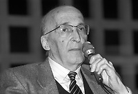 Antonino Caponnetto, magistrato alla guida del pool antimafia dal 1984 al 1990.<br /> Anthony Caponnetto, magistrate at the head of the anti-mafia pool from 1984 to 1990.