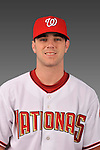 14 March 2008: ..Portrait of Richard Caputo, Washington Nationals Minor League player at Spring Training Camp 2008..Mandatory Photo Credit: Ed Wolfstein Photo