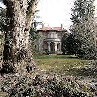 Caratteristica abitazione di Crespi d'Adda..Caracteristic house in Crespi d'Adda