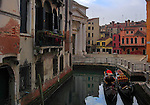 """Campo della Maddalena is a small square in the """"sestiere"""" of Cannaregio, one of the six districts of Venice. Taken on an overcast afternoon of mid January. This is stitched from five vertical frames."""