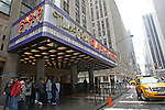 March 16, 2011; New York, NY; USA; Radio City Music Hall hosted the final press conference for UFC 128.  The card will take place on Saturday March 19, 2011, at the Prudential Center in Newark, NJ.
