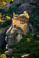 Greek Orthodox Monastery of St Nicholas Anapafsas, Meteora Mountains, Greece