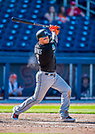 1 March 2017: Miami Marlins outfielder Brandon Barnes in Spring Training action against the Houston Astros at the Ballpark of the Palm Beaches in West Palm Beach, Florida. The Marlins defeated the Astros 9-5 in Grapefruit League play. Mandatory Credit: Ed Wolfstein Photo *** RAW (NEF) Image File Available ***