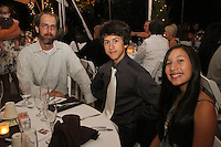 Mindy and Joel's Wedding October 14, 2011. Jason, Andre, Roxanne.