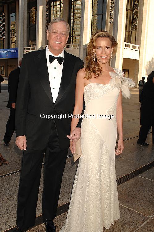 Koch Wife David Koch And Wife Julia