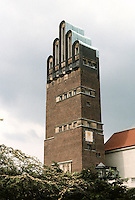 Josef Maria Olbrich: Wedding Tower, Darmstadt 1905.