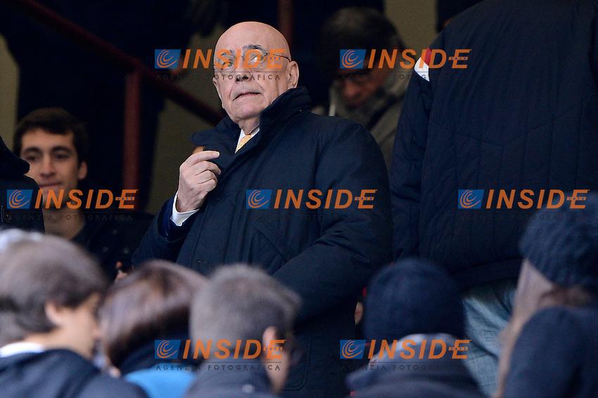 Adriano Galliani Milan<br /> Milano 18-01-2015 Stadio Giuseppe Meazza - Football Calcio Serie A Milan - Atalanta. Foto Giuseppe Celeste / Insidefoto