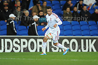 Hal Robson-Kanu of Wales. Cardiff City Stadium, Cardiff, Wales, Wednesday 5th March 2014. The Football Association of Wales - Vauxhall International Friendly - Wales v Iceland. Pictures by Jeff Thomas Photography - www.jaypics.photoshelter.com - Contact: thomastwotimes@live.co.uk - 07837 386244