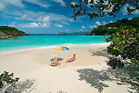 A day at Trunk Bay<br /> Virgin Islands National Park<br /> St. John, U.S. Virgin Islands