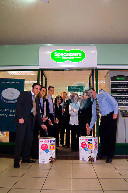 Specsavers Drogheda Town Centre With Wanted Box...Pic Tony Campbell/Newsfile