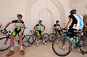 Tour of Oman 2012.Pictures of the teams preparing and leaving The Muscat Royal Opera House.Credit: Lloyd Images