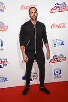LONDON, UK. December 3, 2016: Marvin Humes at the Jingle Bell Ball 2016 at the O2 Arena, Greenwich, London.<br /> Picture: Steve Vas/Featureflash/SilverHub 0208 004 5359/ 07711 972644 Editors@silverhubmedia.com