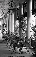 patio cafe in french quarter