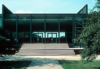 Mies van der Rohe: Illinois Institute of Technology, Chicago. Photo '76.