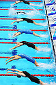 General view,.MARCH 4, 2012 - Swimming :.A general view of start of a women's backstroke race the British Gas Swimming Championships 2012 (Selection Trials) at London Aquatics Centre in London, United Kingdom. (Photo by Hitoshi Mochizuki/AFLO)