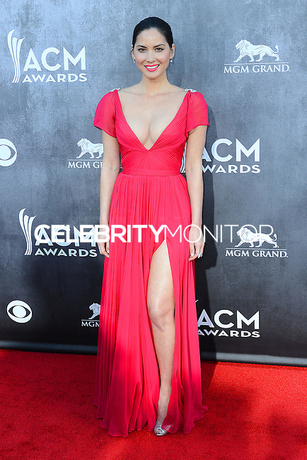 LAS VEGAS, NV, USA - APRIL 06: Olivia Munn at the 49th Annual Academy Of Country Music Awards held at the MGM Grand Garden Arena on April 6, 2014 in Las Vegas, Nevada, United States. (Photo by Celebrity Monitor)