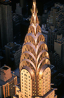 Chrysler Building spire, New York, NY