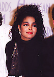 Janet Jackson 1987 American Music Awards.© Chris Walter.