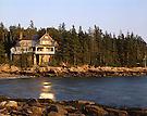 """""""Felstead"""" Frederick Law Olmstead's residence, Deer Isle, ME"""