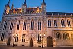 City Hall, Bruges, Belgium, Europe