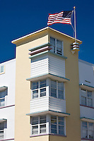 Majestic Hotel South Beach on Ocean Drive art deco district South Beach, Miami, Florida, United States of America