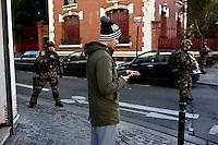 FRANCE, Paris: L'armee est deployee dans le quartier de Saint-Denis. Une operation policiere a eu lieu a Saint-Denis dans le cadre de l'enquete des attentats du 13 novembre. Deux suspects sont morts et 7 personnes ont ete interpellees. <br /> <br /> FRANCE, Paris: Army is deployed in Saint-Denis. A police assault happened in hte area of Saint-Denis in Paris in the night of November 18. At the end of the operation, 2 suspects got killed and 7 arrested.
