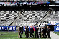 FIFA Inspection New Meadowlands Stadium September 07 2010
