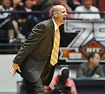 "Mississippi head basketball coach Andy Kennedy yells vs. Illinois State in a National Invitational Tournament game at the C.M. ""Tad"" Smith Coliseum in Oxford, Miss. on Wednesday, March 14, 2012. (AP Photo/Oxford Eagle, Bruce Newman)"
