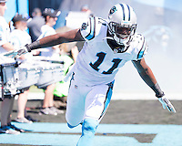 The Carolina Panthers played the New York Giants at Bank of America Stadium in Charlotte, NC.  The Panthers won 38-0 for their first victory of the season.  The Giants dropped to 0-3.  Carolina Panthers wide receiver Brandon LaFell (11)