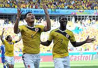 Colombia (COL) vs Grecia (GRC) FIFA Brasil 2014, 14-06-2014
