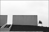 From &quot;Miami in Black and White&quot; series.<br /> Bayside park, Downtown Miami, FL