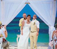 Allison & Jared's wedding ceremony on Friday