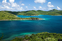 Hurricane Hole, East End St. John.US Virgin Islands