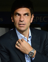 FUSSBALL   CHAMPIONS LEAGUE   SAISON 2012/2013   GRUPPENPHASE   FC Bayern Muenchen - FC Valencia                            19.09.2012 Trainer Mauricio Pellegrino (Valencia CF)
