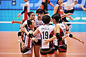 Korea Women's Volleyball Team Group (KOR),.MAY 23, 2012 - Volleyball : FIVB the Women's World Olympic Qualification Tournament for the London Olympics 2012, between Japan 1-3 Korea at Tokyo Metropolitan Gymnasium, Tokyo, Japan. (Photo by Jun Tsukida/AFLO SPORT) [0003].