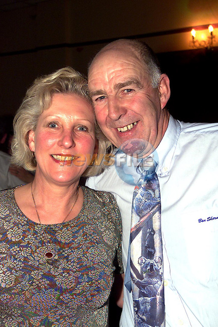 Jean Russell and Sean Halligan enjoying a night out in O'Neill's, Duleek. .Picture Paul Mohan Newsfile