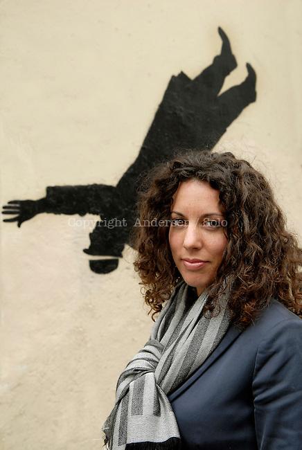 Silvia Avallone, Italian writer. 2011.