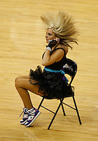 Mar 22, 2010; New Orleans, LA, USA; A New Orleans Hornets Honeybees dancer performs on the court during the first half of a game against the Dallas Mavericks at the New Orleans Arena. Mandatory Credit: Derick E. Hingle-US PRESSWIRE
