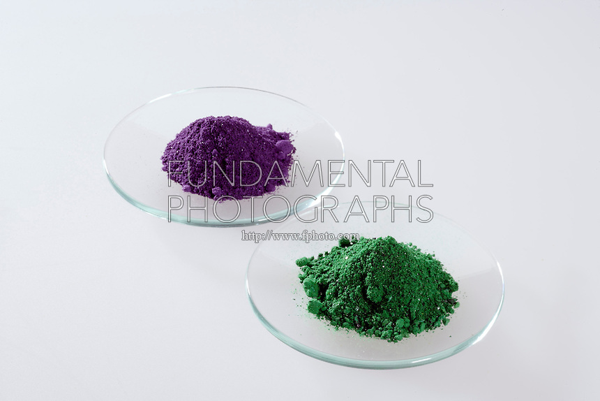 GEOMETRICAL ISOMERS: CIS(violet) &amp; TRANS(green)<br />