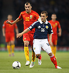 Goran Pandev and Sean Maloney
