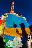 Tibet-Lhasa-Barkhor Square