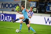 VOETBAL: HEERENVEEN: Abe Lenstra Stadion, SC Heerenveen - Ajax, 11-01-2012, Eindstand 0-5, Michel Breuer (#4), Jan Vertonghen (#4), ©foto Martin de Jong