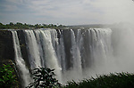 The Main Falls of Victoria Falls continues to flow even during the dry season.